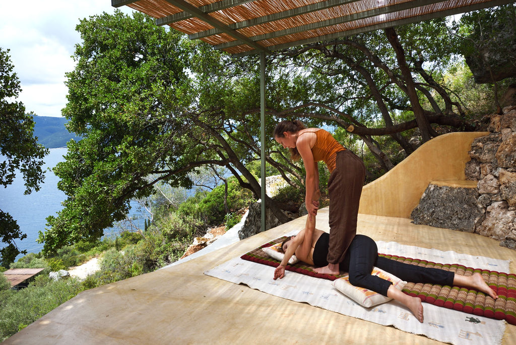 Outdoor Massage Place
